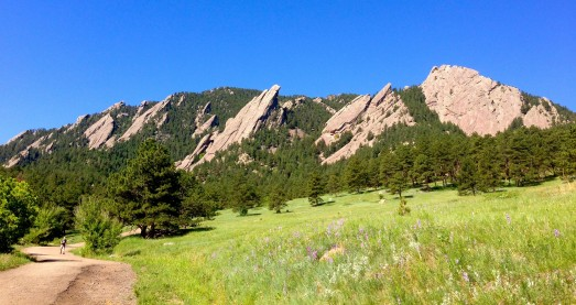 The Magnificent Flatirons Boulder, CO Photo By Roxanna Kopp Smith