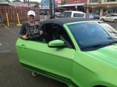 Kate's Maui ride